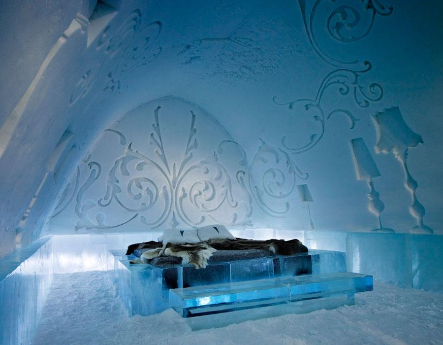 The Ice Hotel - tracking trip