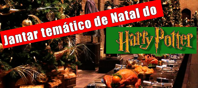 Jantar de Natal especial do Harry Potter nos Estúdios Warner!