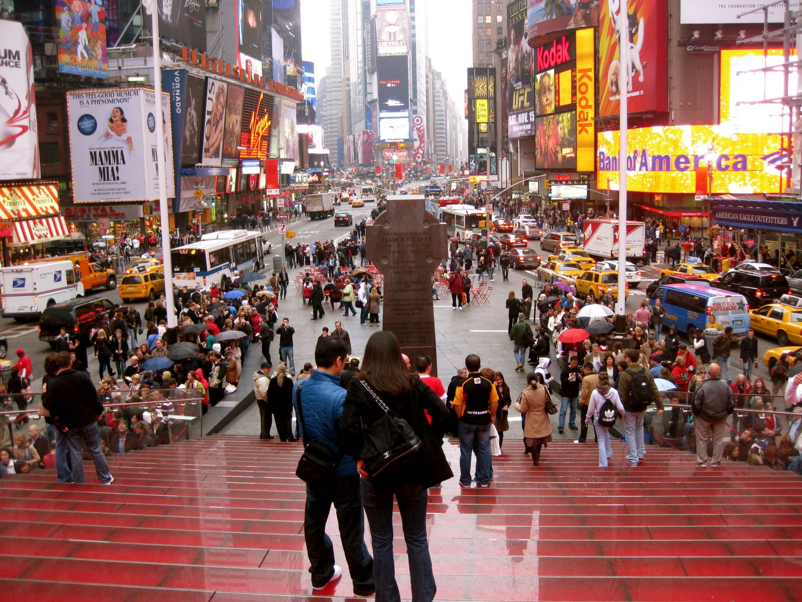 times square stairs- TT